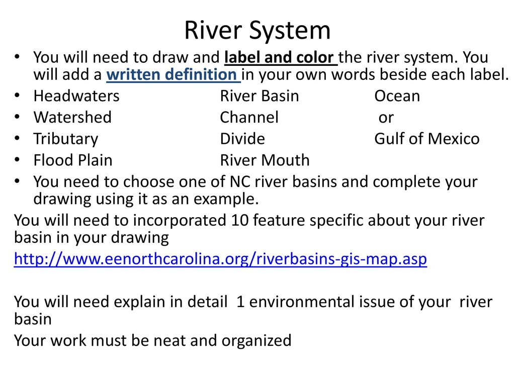 river systems - ppt download