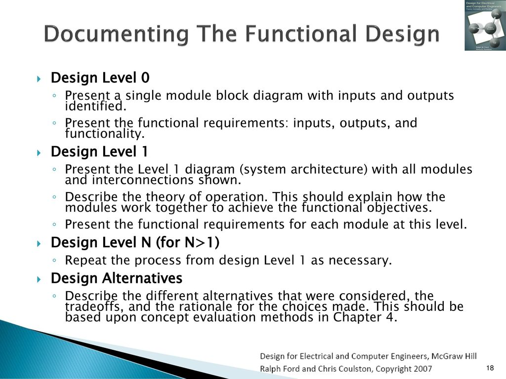 Functional Decomposition Ppt Download Level 0 Block Diagram Documenting The Design