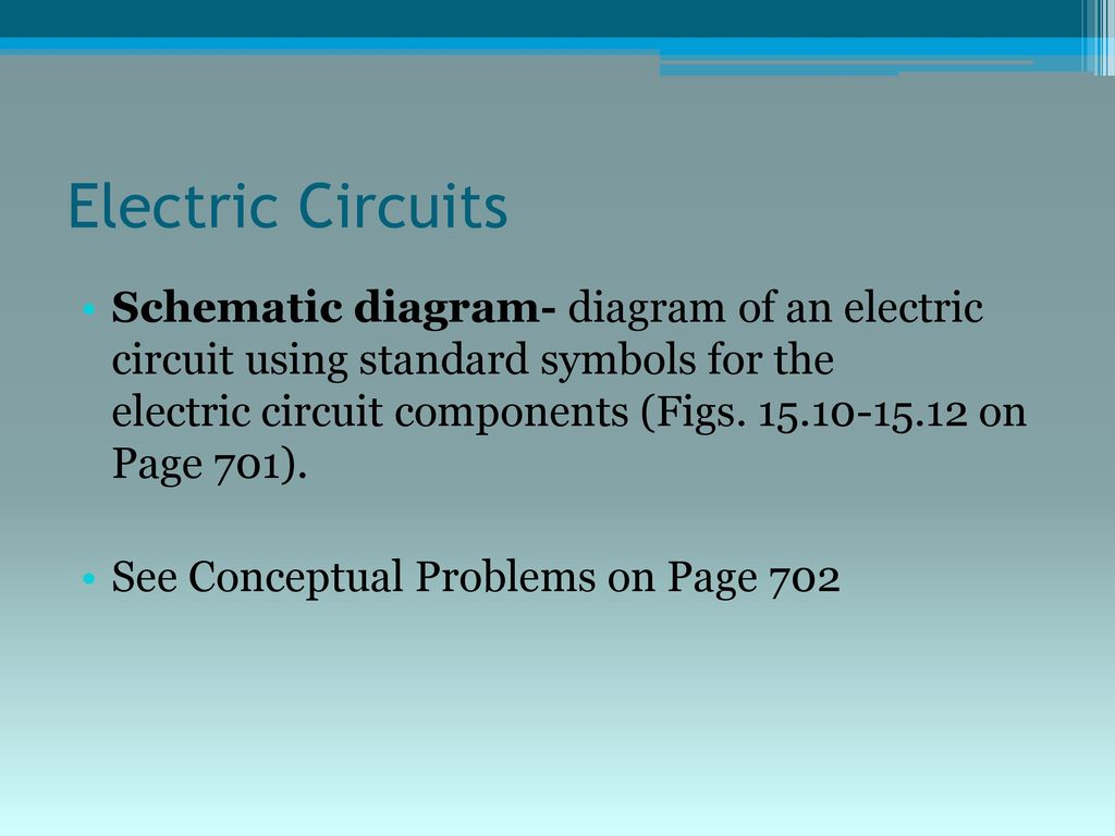 Electric Energy and Circuits - ppt download
