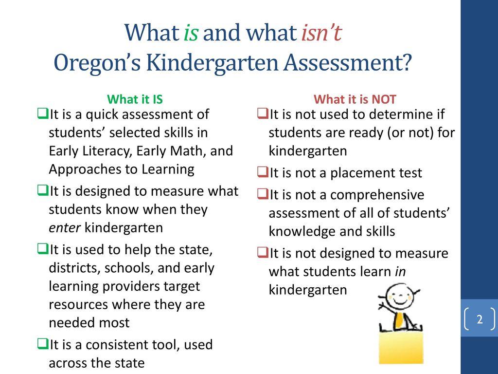 The Oregon Kindergarten Assessment Test Administrator Training - ppt