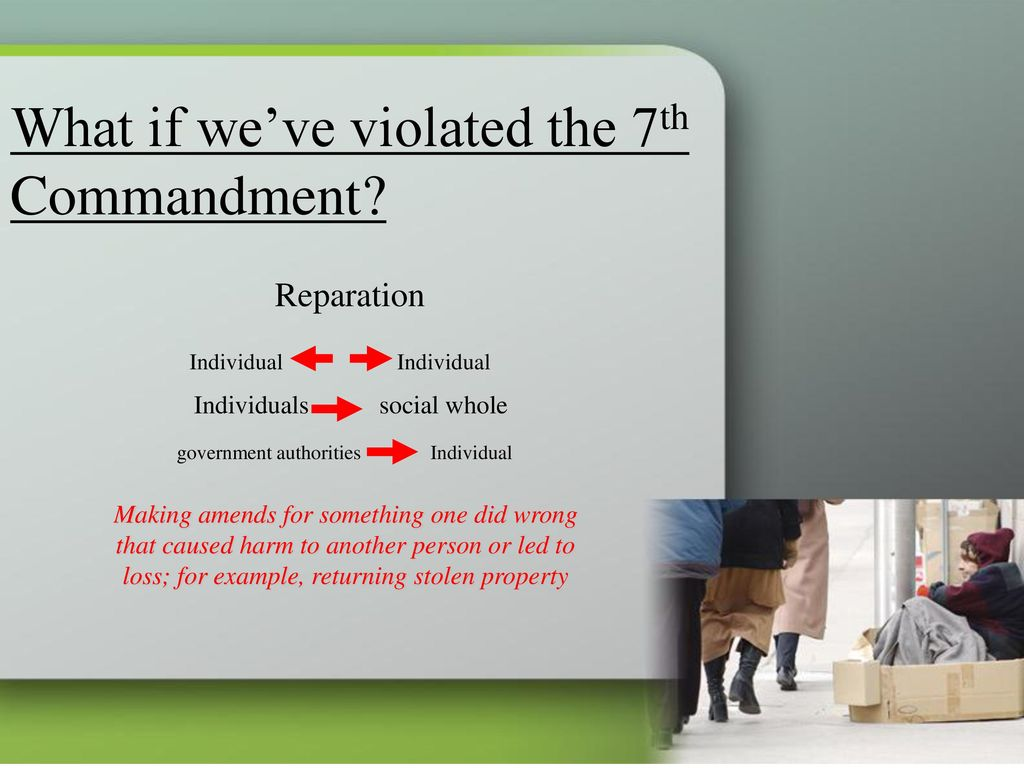 Respect for property and Justice - ppt download