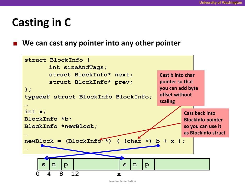 Section 11: Comparing Java and C - ppt download