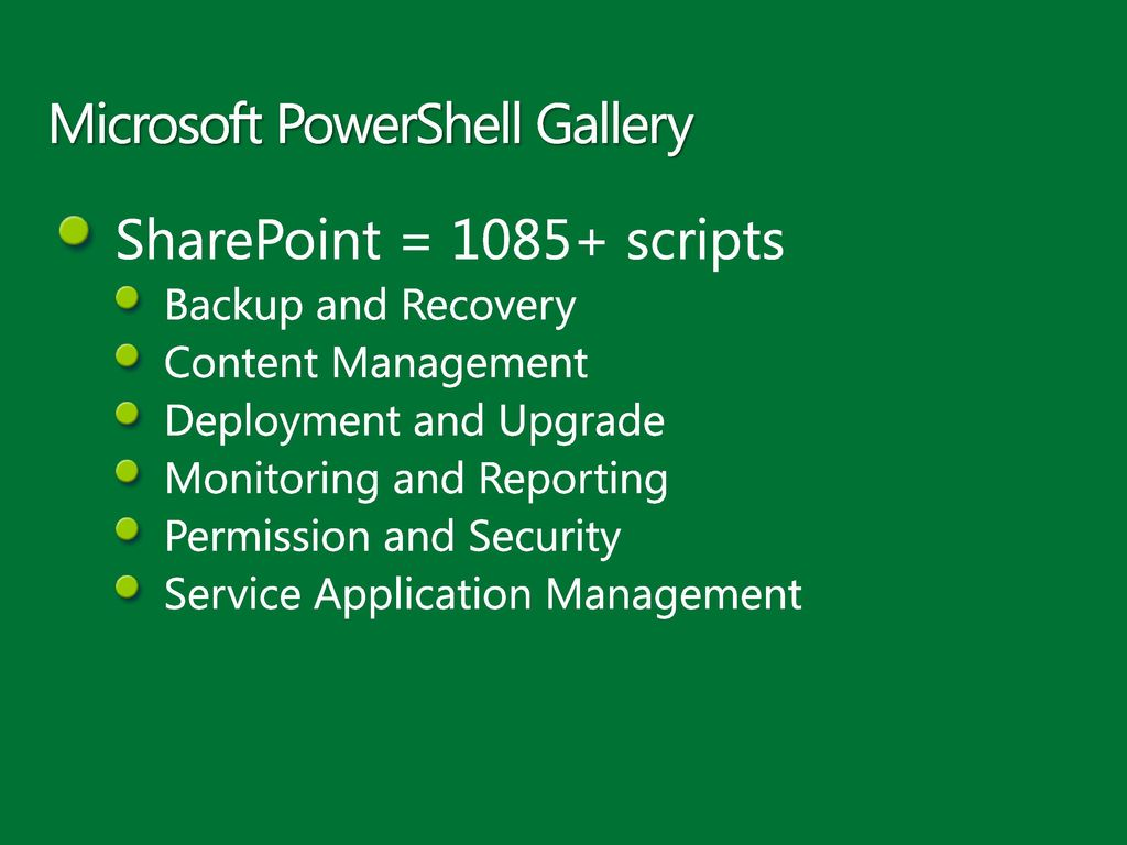 Getting Started with PowerShell and using it with SharePoint