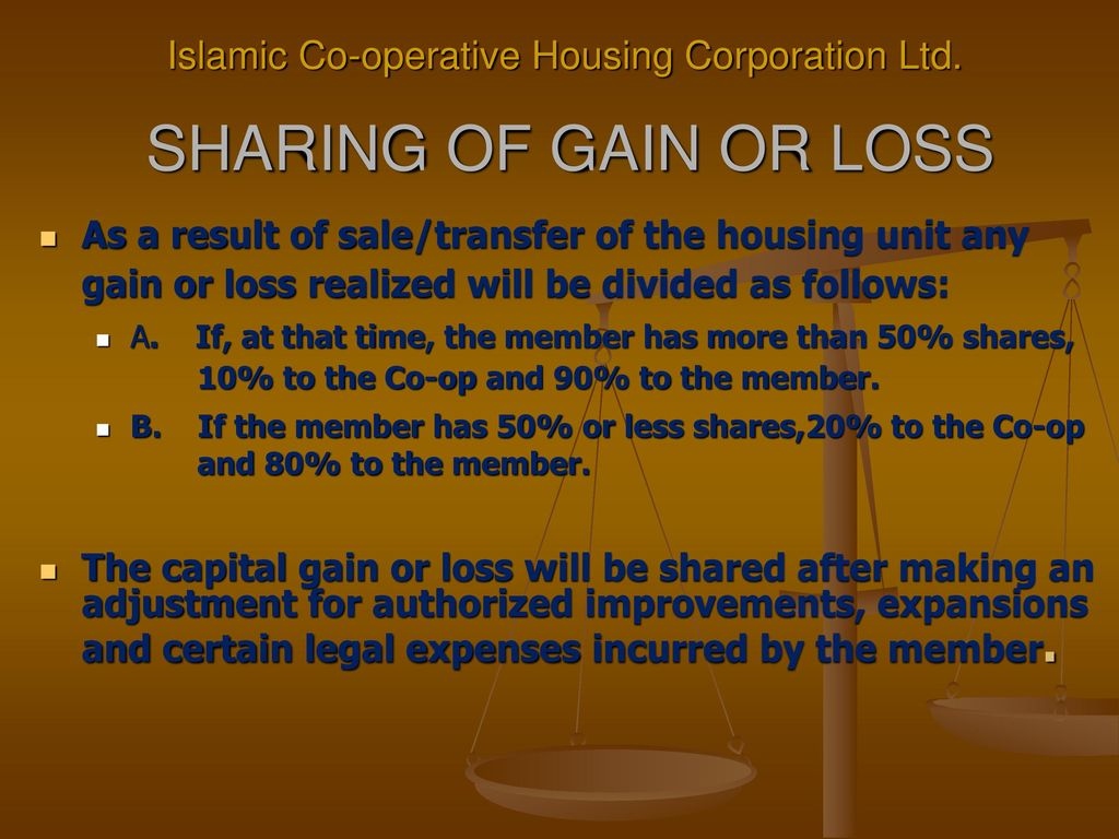 Islamic Co-operative Housing Corporation Ltd  - ppt download
