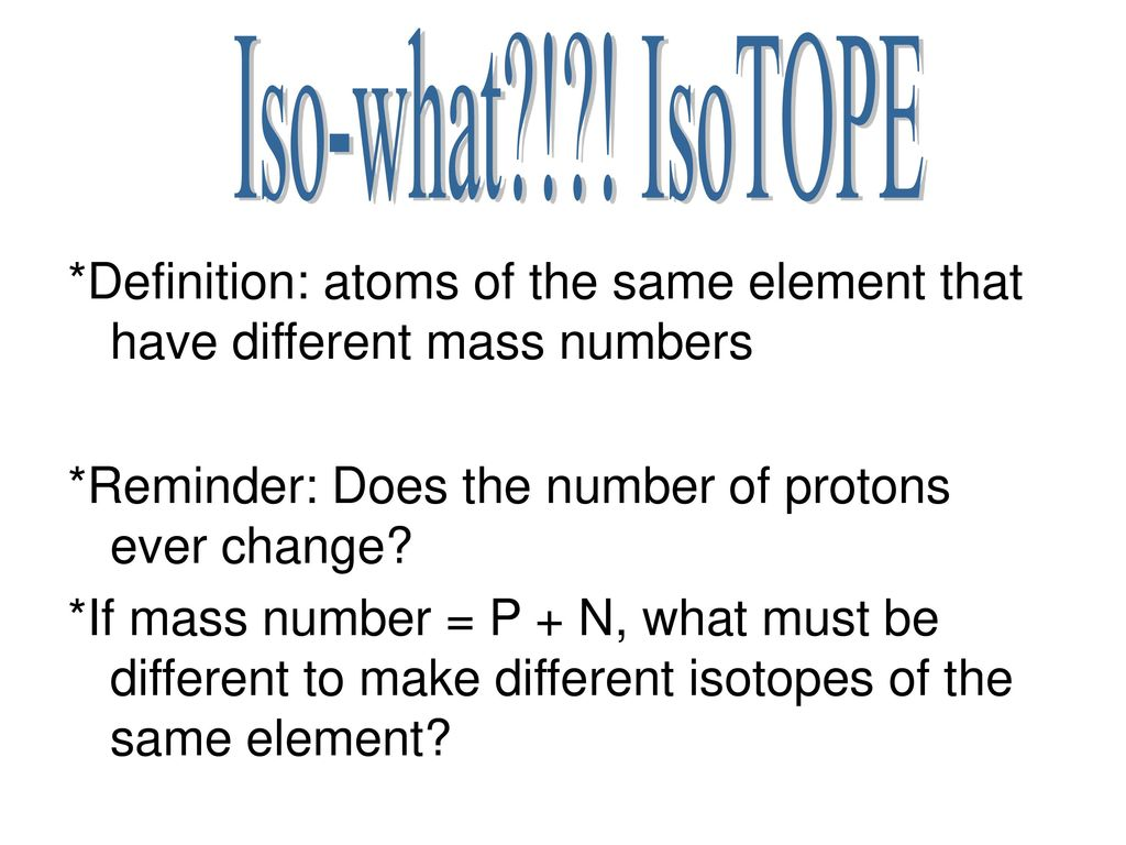 Chemistry(!!!) and The Periodic Table!!!  - ppt download