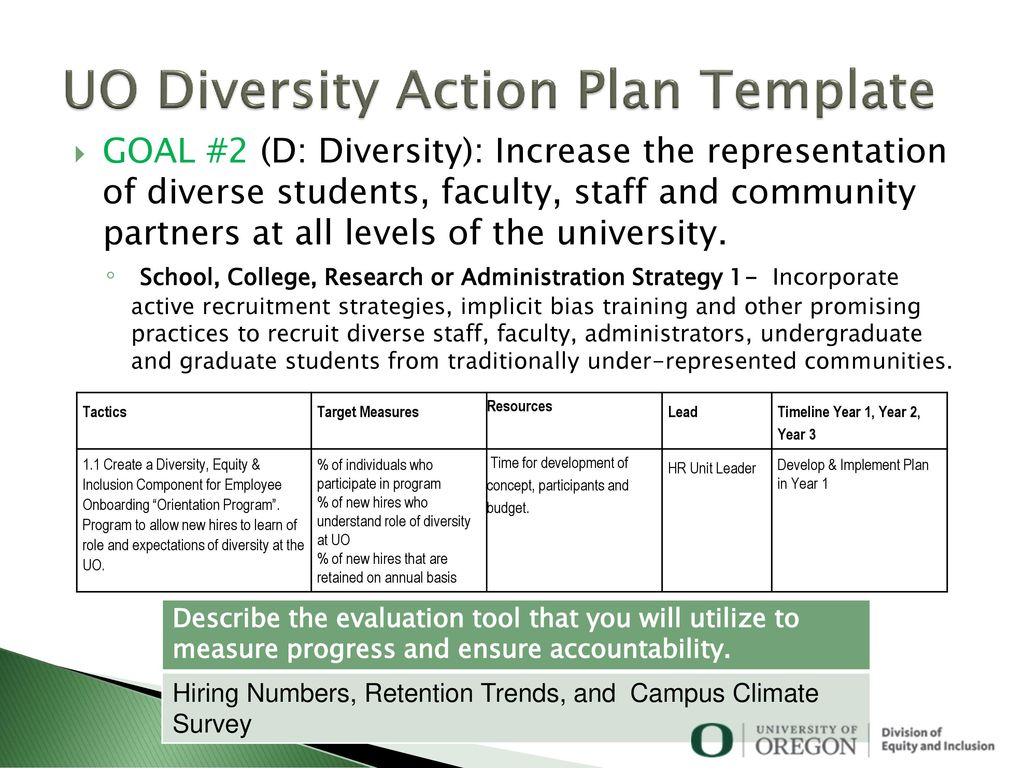 Diversity Action Planning Ppt Download