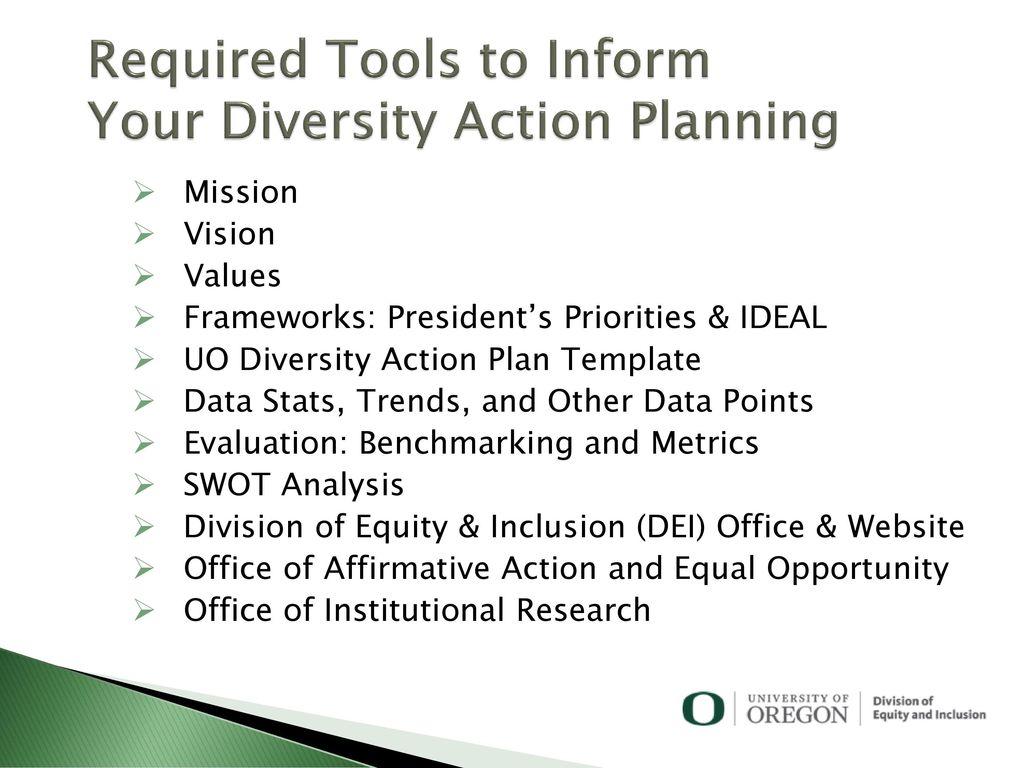 Diversity Action Plan Template | Diversity Action Planning Ppt Download
