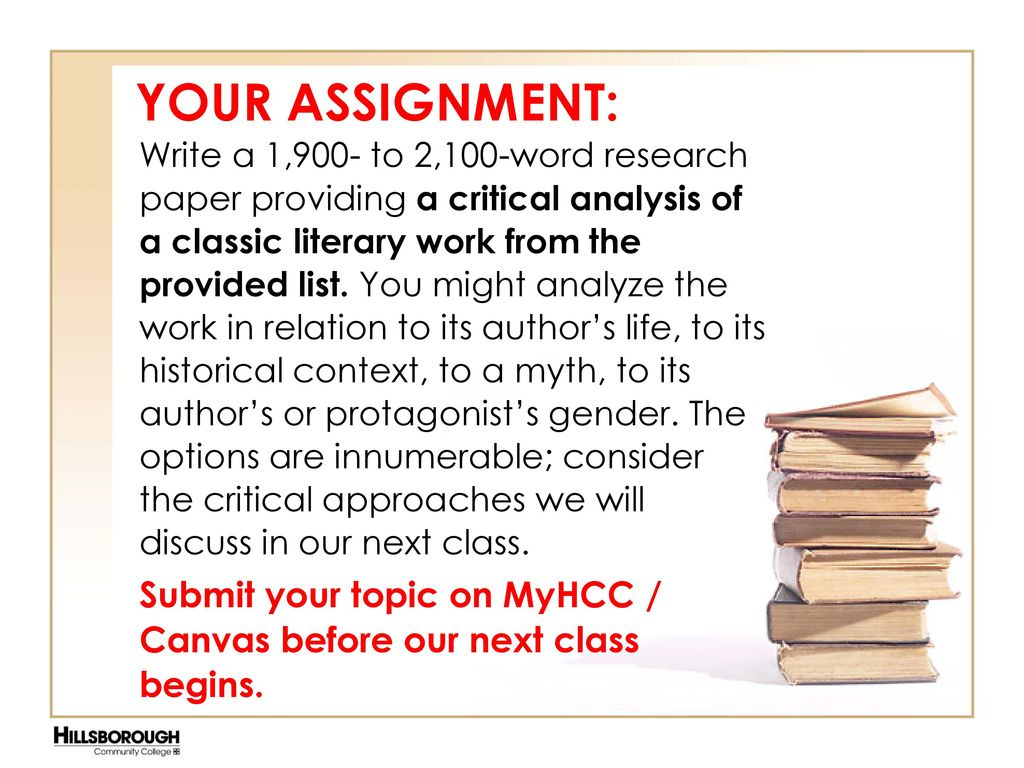 The Research Paper and Sources - ppt download