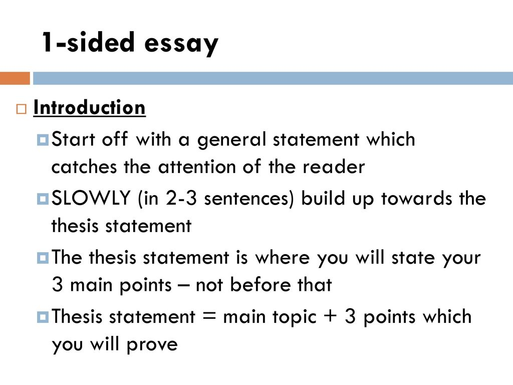 how to start off an essay introduction
