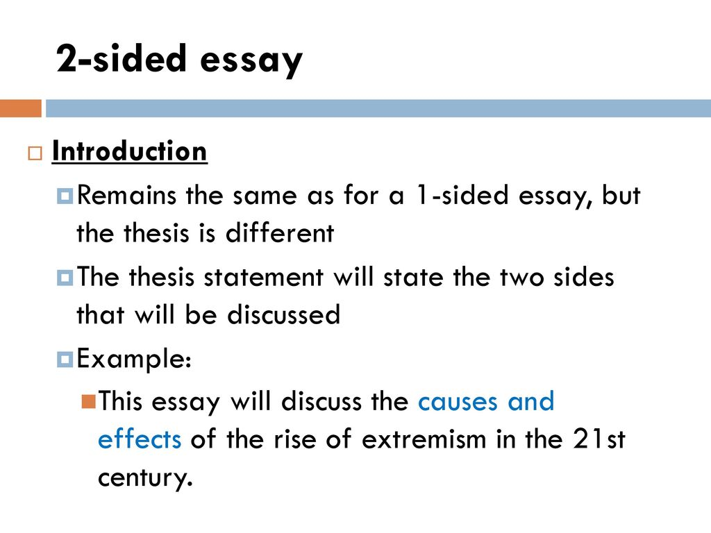 this essay will discuss introduction