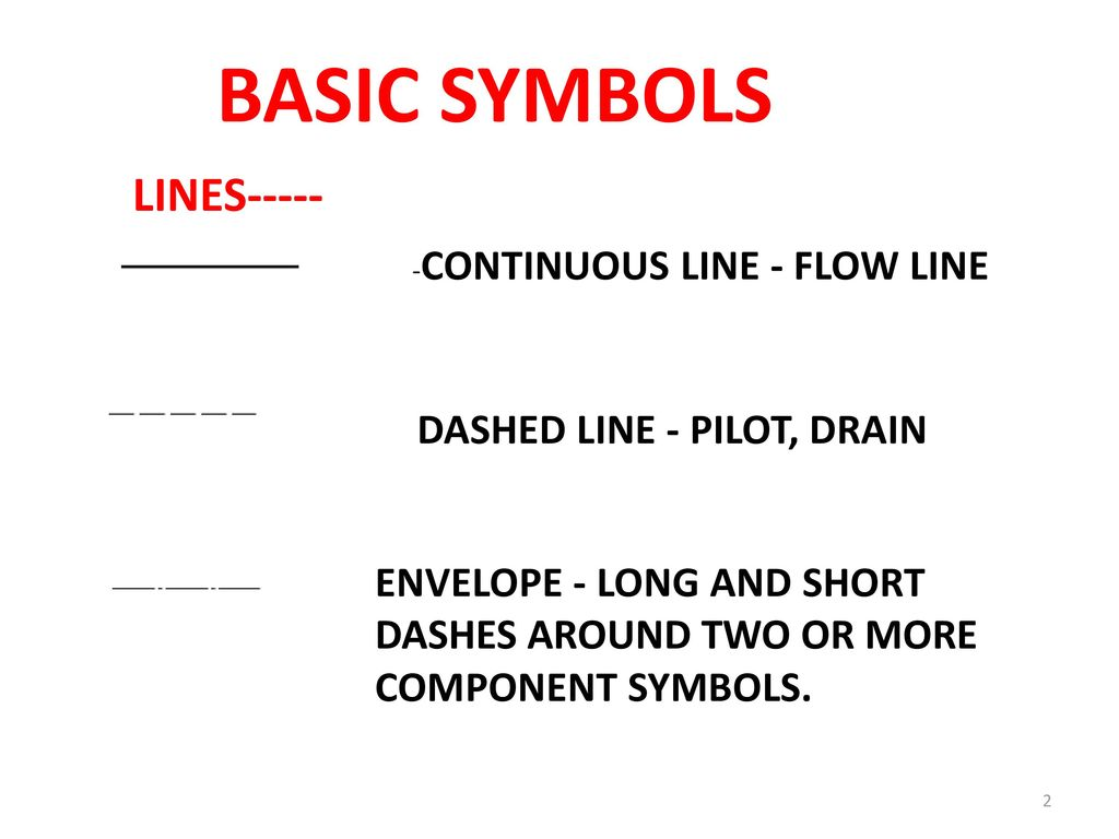 Pneumatic Schematic Symbols Wiring Library Relay Circuit Light Emitting Diode Symbol Hydraulic Valve Basic Lines Dashed Line Pilot Drain Circuits