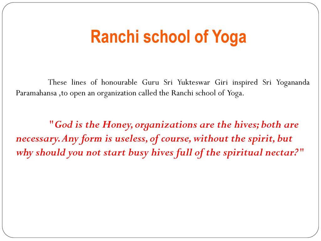 Paramahansa Yogananda - ppt download