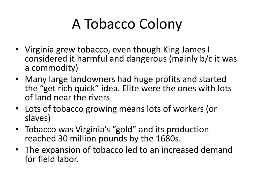 English Colonization in the New World - ppt download