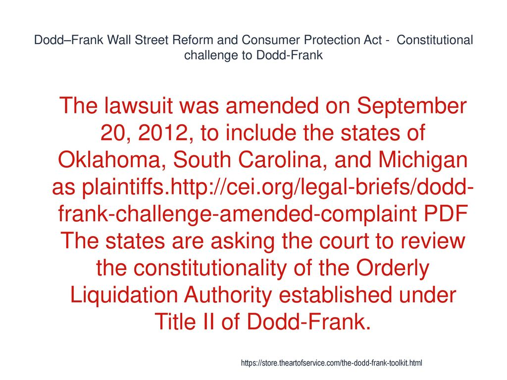 Dodd-frank - ppt download