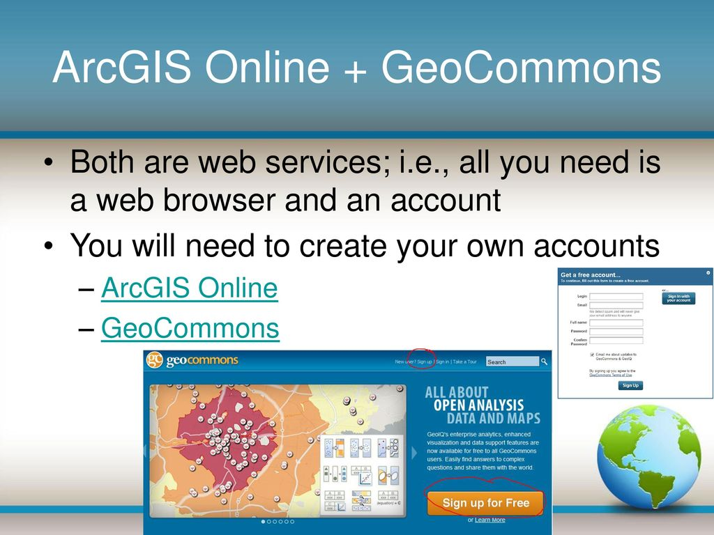 GTECH 709 How to get ArcGIS and FOSS software - ppt download