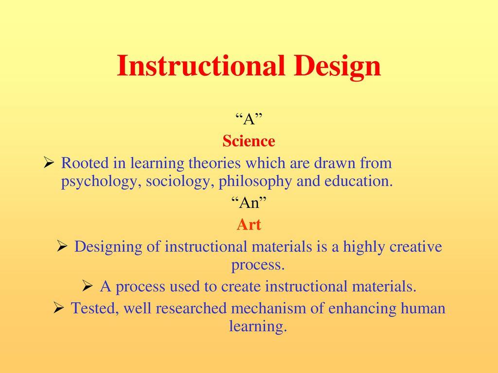 Instructional Design Ppt Download