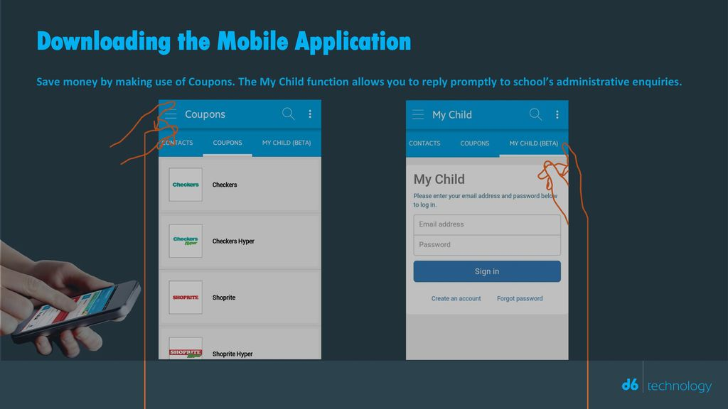 Downloading the Mobile Application