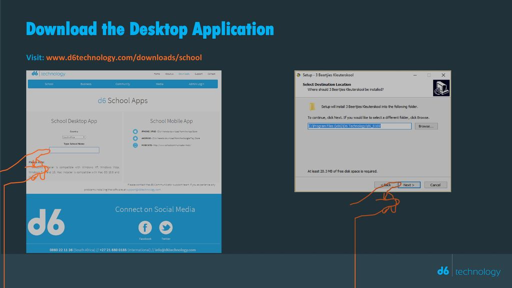 Download the Desktop Application