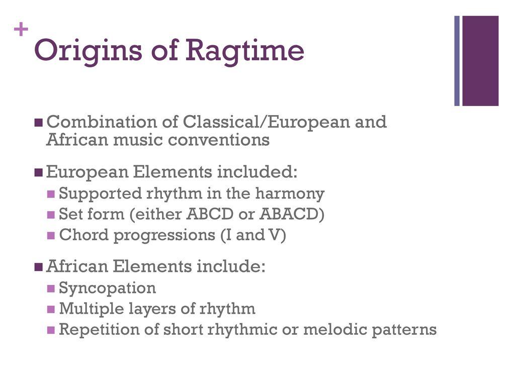 ragtime unit presentation - ppt download