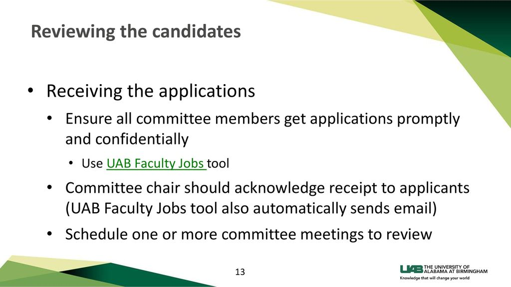 Training for Faculty Search Committees - ppt download