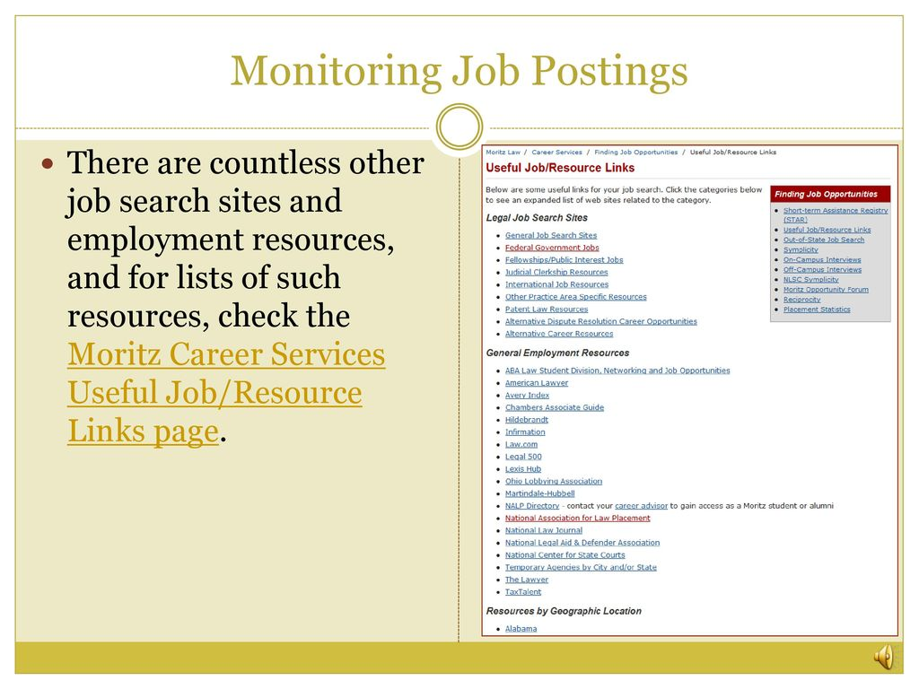 Developing Your Individual Job Search Plan - ppt download