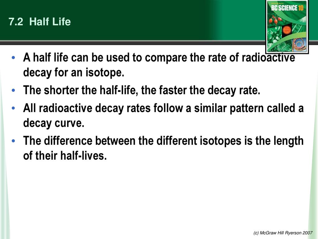 if the parent isotope has a half-life that equals 1 75 million years, how old is the rock?