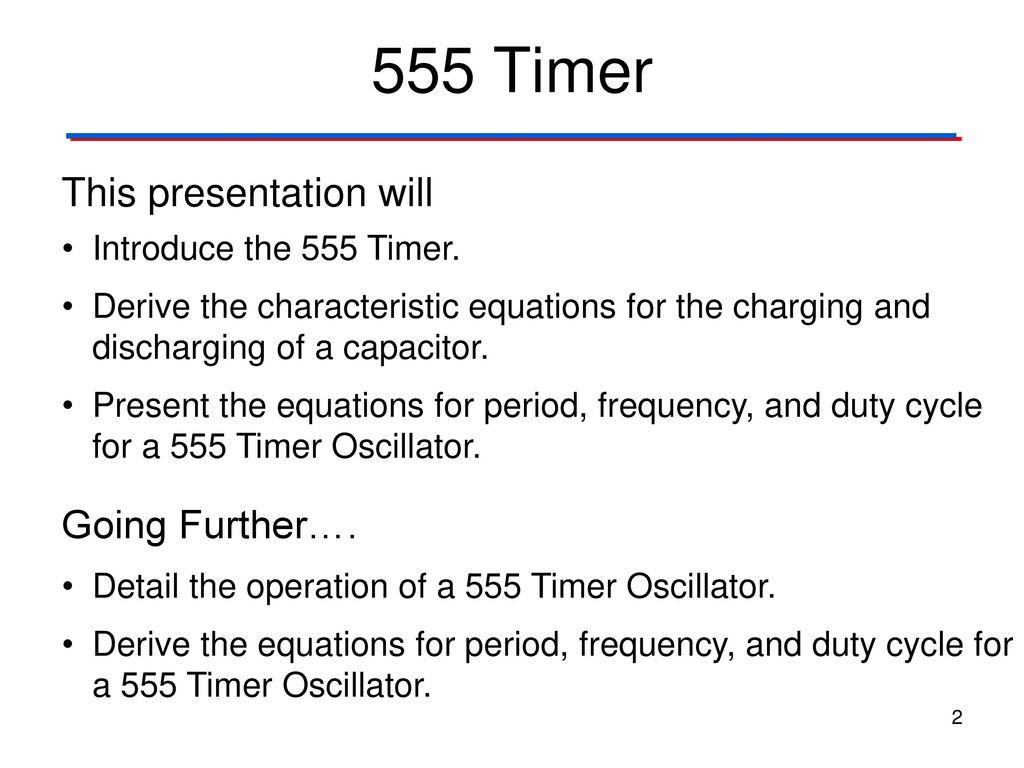 Clock Signals 555 Timer Digital Electronics Tm Ppt Download Generating A Delayed Pulse Using The 2