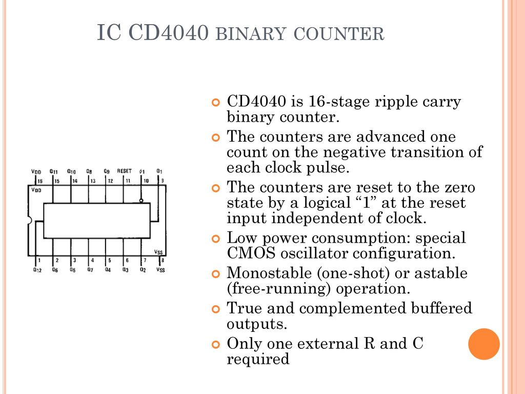 A Project Report On Christmas Decoration Light Ppt Download Lights Sequencer Circuit With 4017 Decade Counter Ic Cd4040 Binary Is 16 Stage Ripple Carry