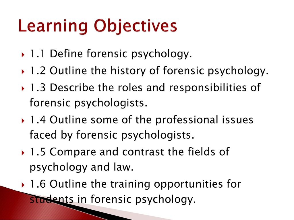 forensic psychology and the law a canadian perspective - ppt download