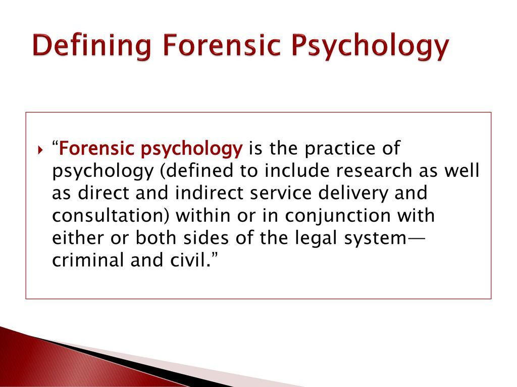 Forensic Psychology And The Law A Canadian Perspective Ppt Download