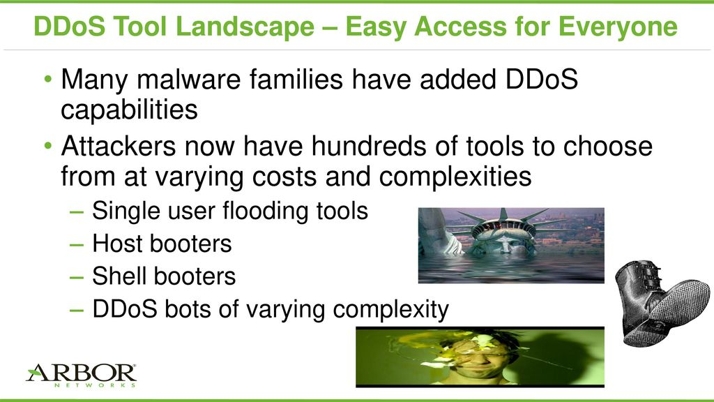 How to protect your network from the escalating threat of DDoS - ppt