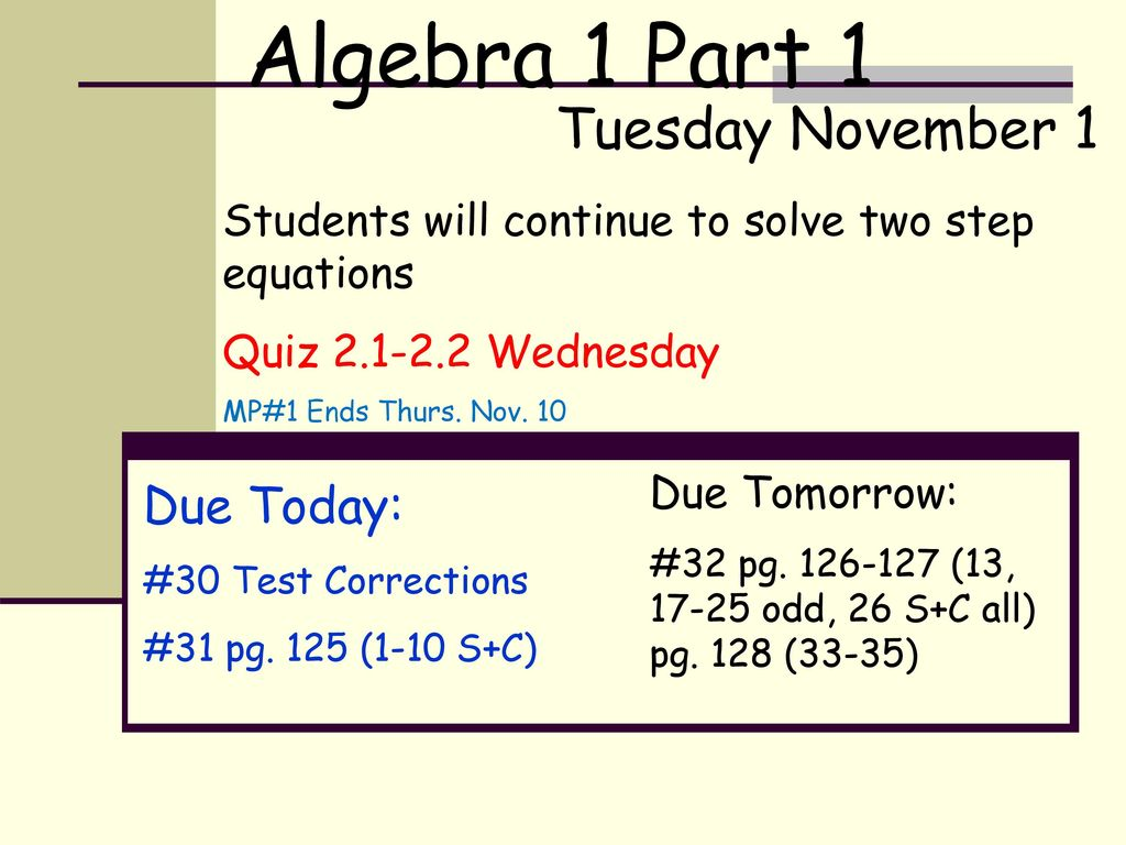 Thursday August 31 Period :25 Period 2 9:28-9:58 - ppt download