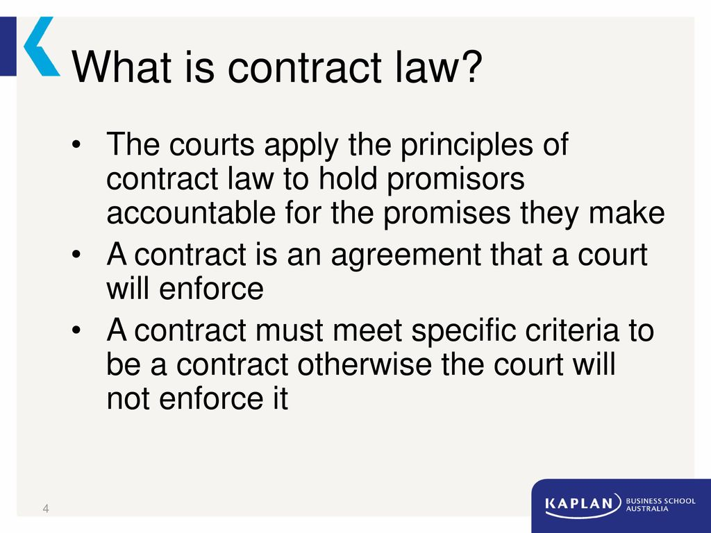 Contract Law Essential Elements 1 Ppt Download
