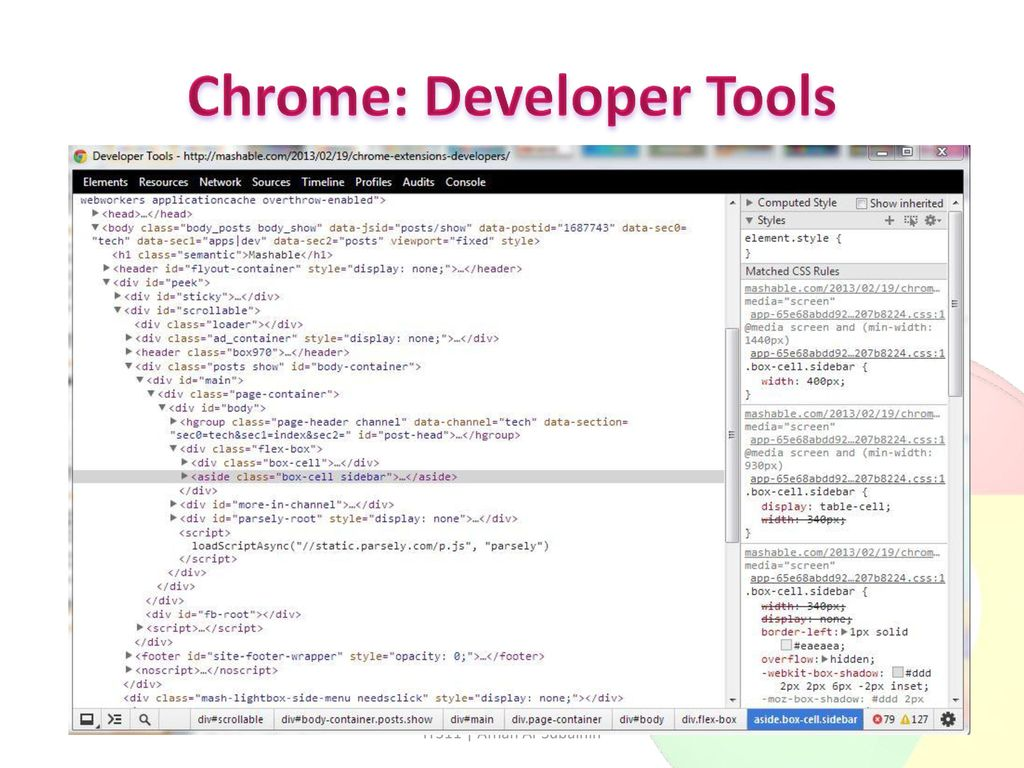 Essential tools for implementing and testing websites - ppt download