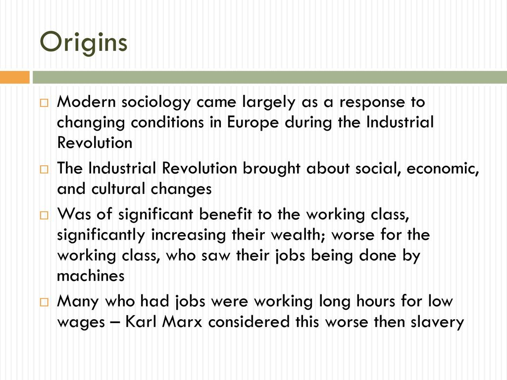 sociology origin, definition & schools of thought - ppt download