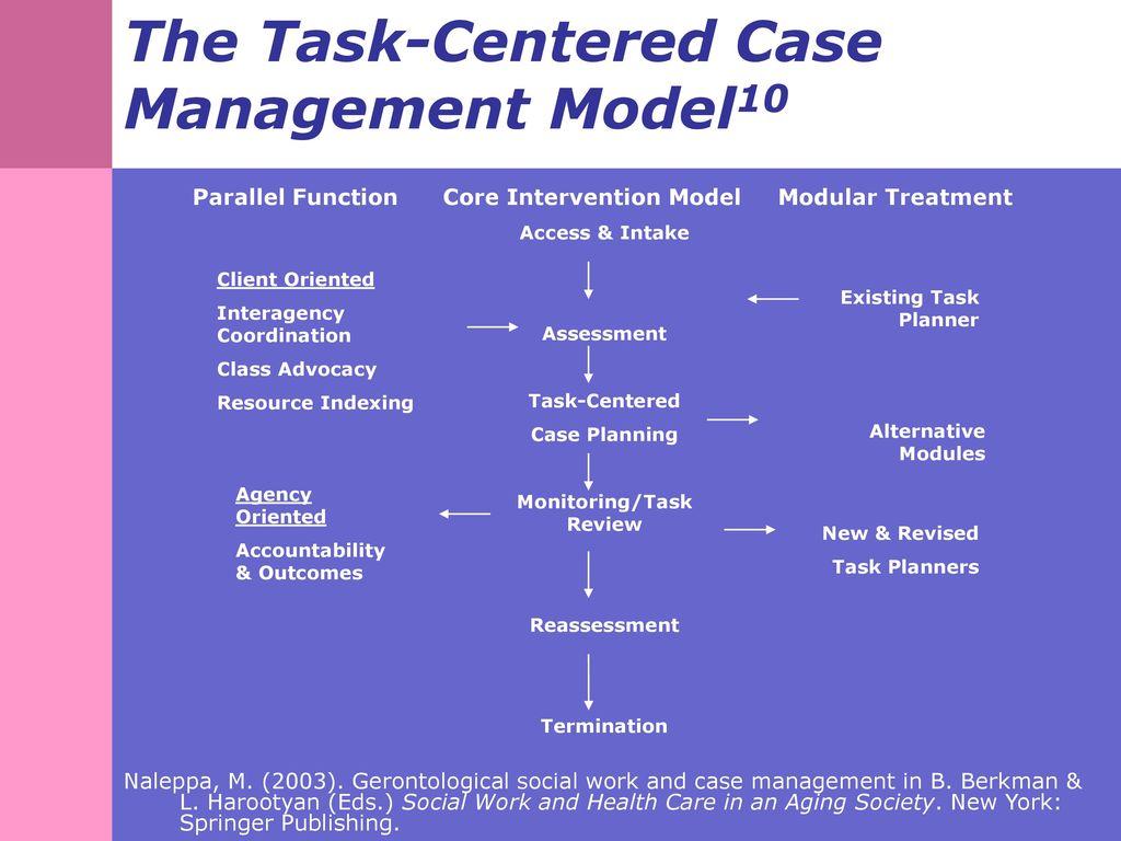 task centered model
