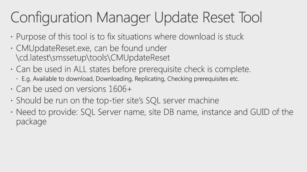 What's new in Configuration Manager - ppt download