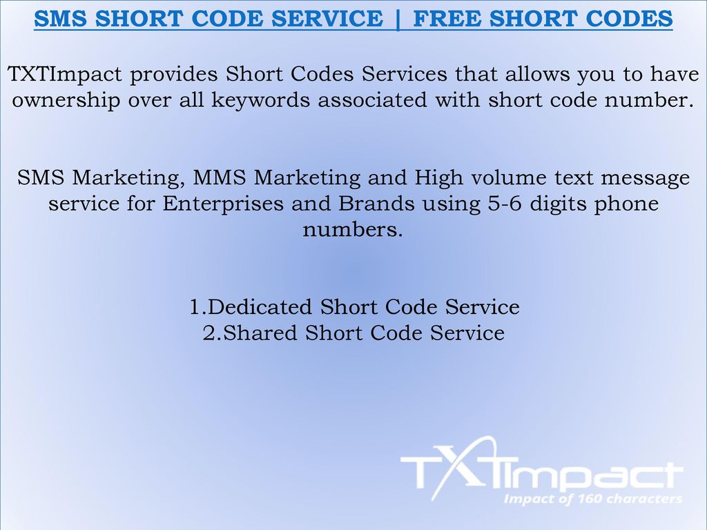 TXTImpact SMS Marketing Solutions -SMS Marketing | Text