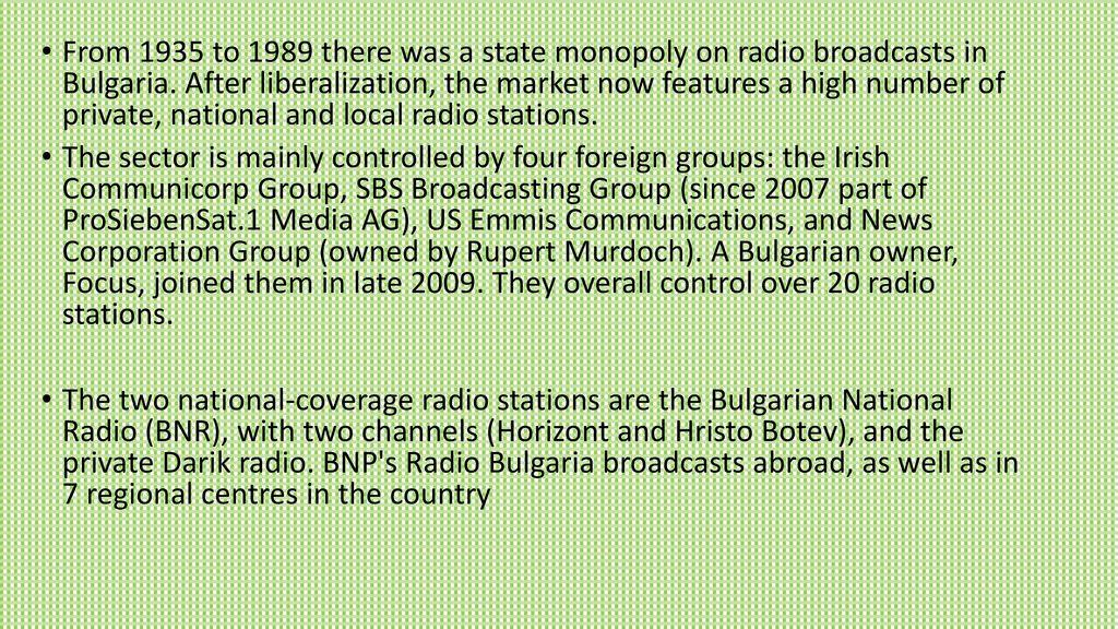 History of journalism Bulgaria  History of journalism