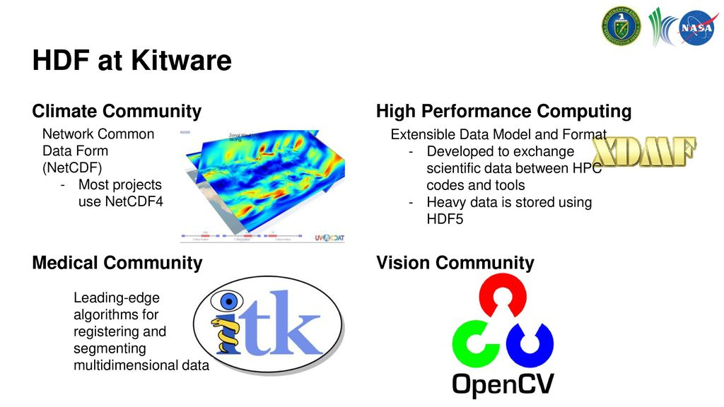 Open-source Scientific Computing and Data Analytics using HDF - ppt