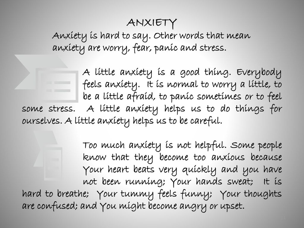 anxiety young people asd ppt download