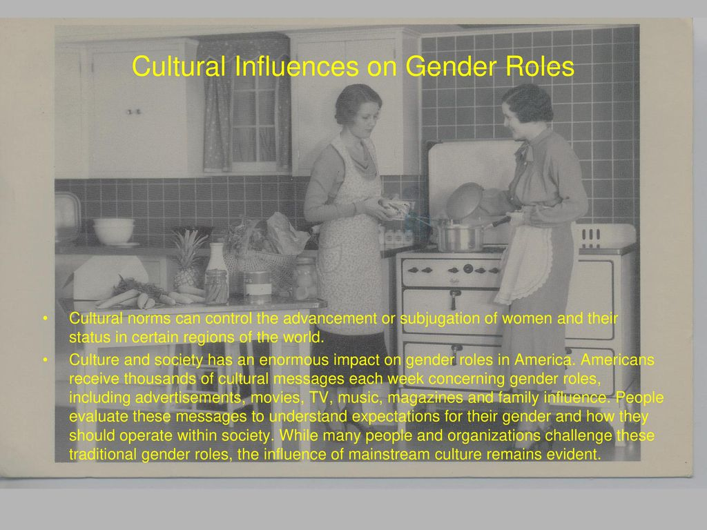 The Cultural Geography of Gender - ppt download