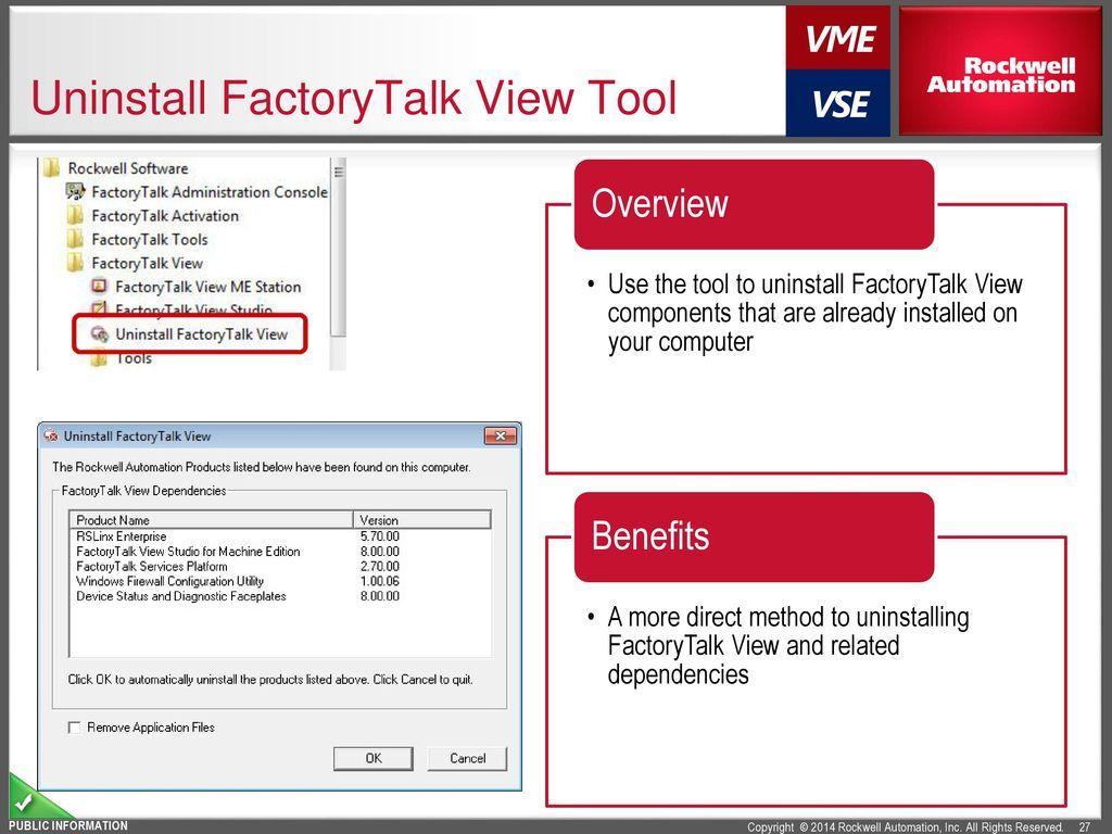 FactoryTalk® View Machine Edition v8 0 CPR9 SR7 - ppt download
