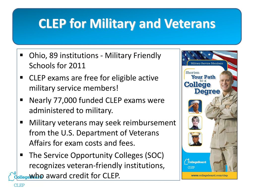 The Ohio Transfer Module Meets CLEP: Taking Your Students