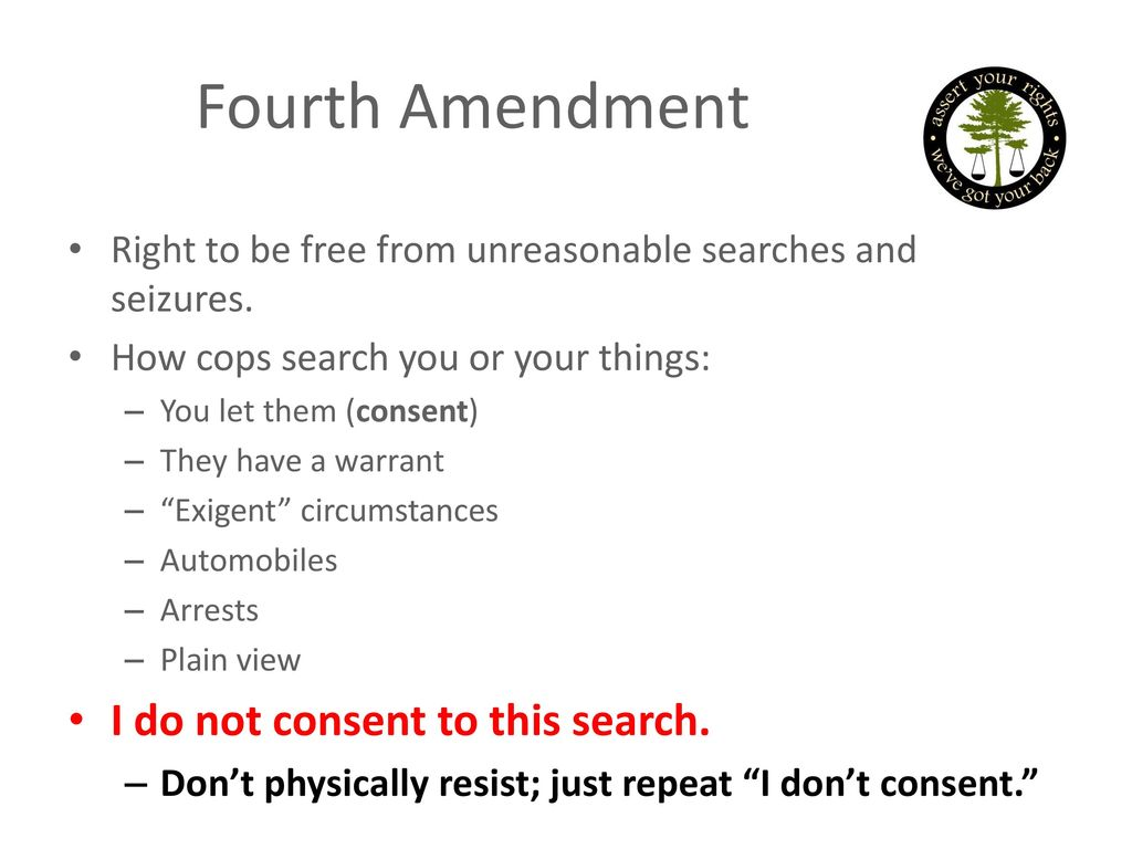 Break Free 2016 Know Your Rights Training - ppt download