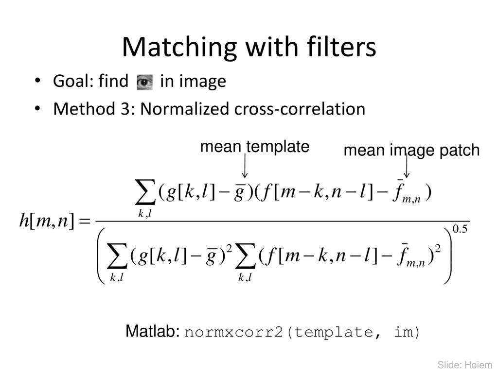 Sampling template matching and pyramids ppt download 41 matching maxwellsz