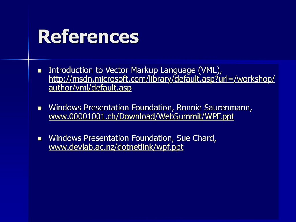 Net 3 0 and Windows Presentation Foundation - ppt download