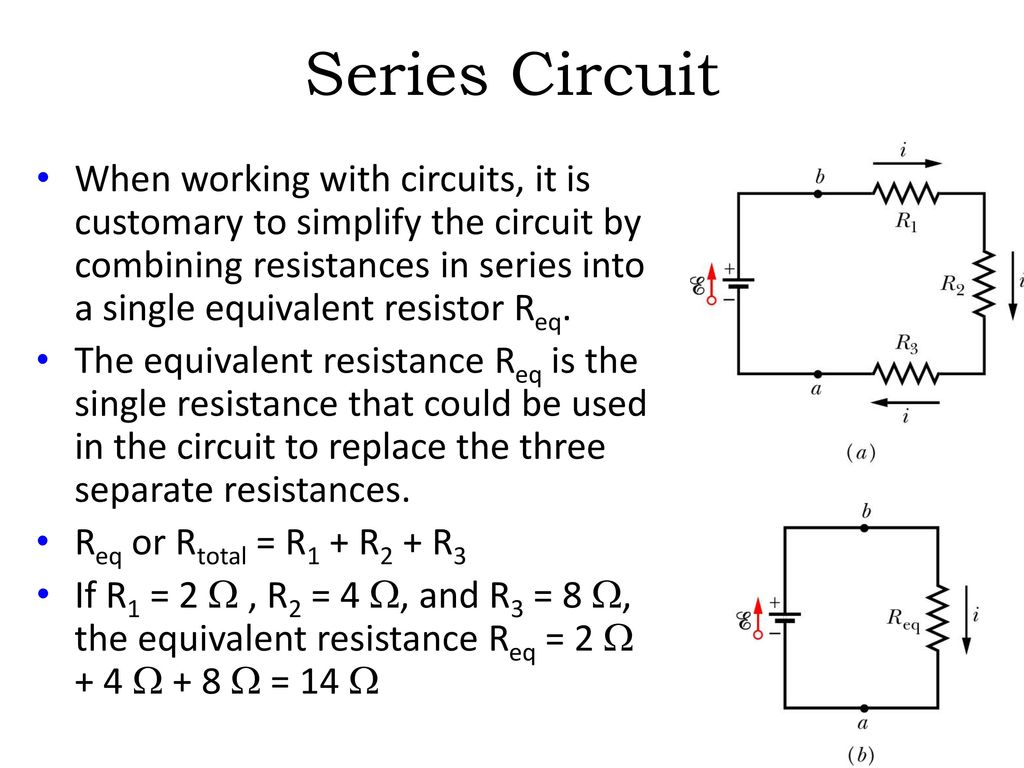 Direct Current Dc Electric Circuits Series And Parallel Ppt Download For In The Text They Show A Circuit That Looks Like This 33
