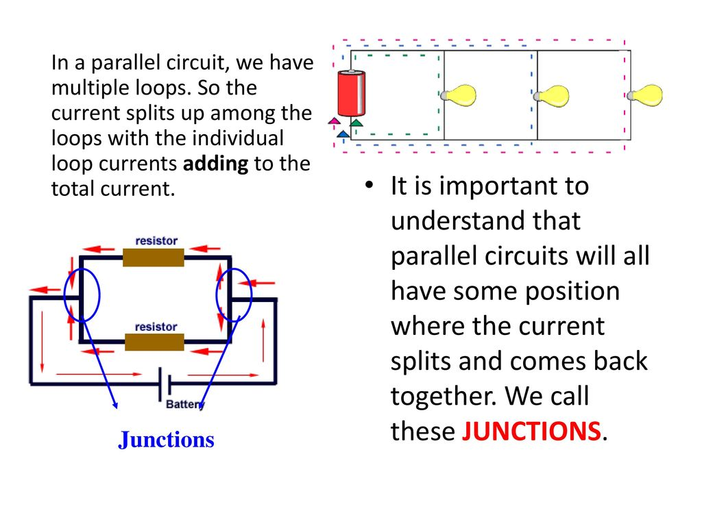 Direct Current Dc Electric Circuits Series And Parallel Ppt Download Resistor In Not So With A Circuit The Voltage Will