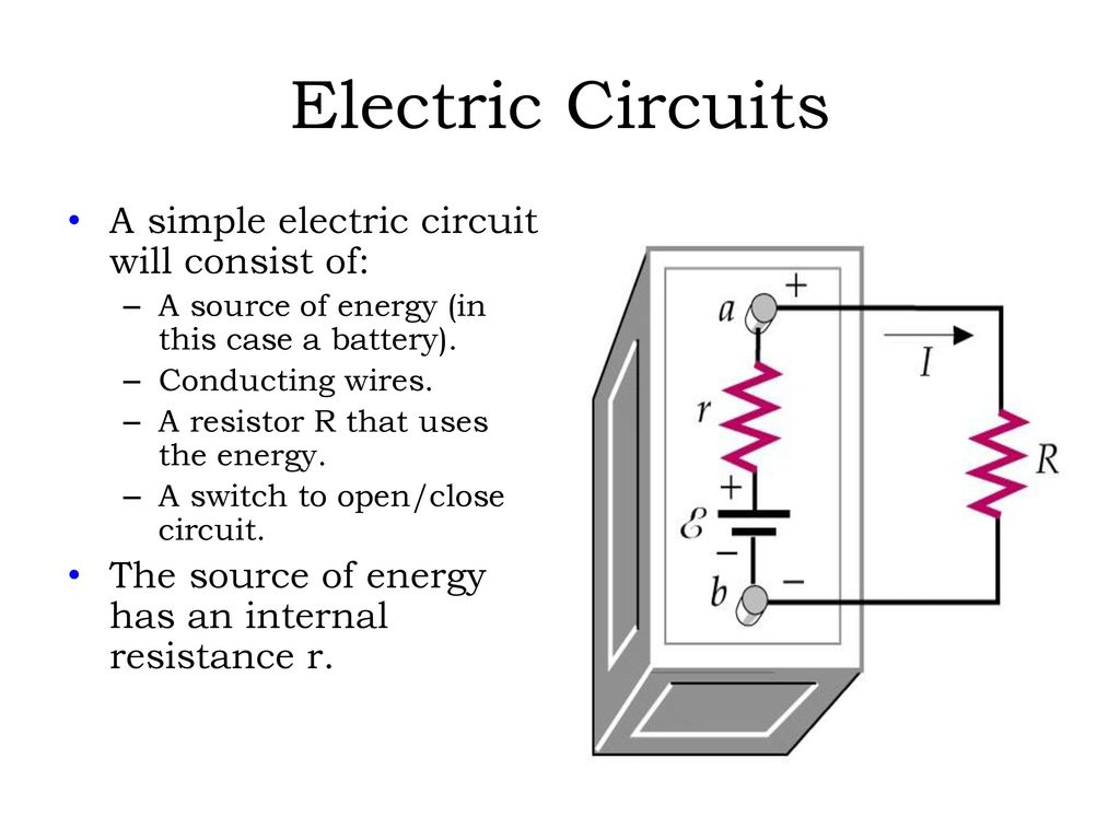 Simple Electronics Circuit Diagram